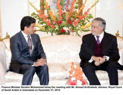 Pakistan-Saudia economic ties enhancement discussed with Saudi Minister