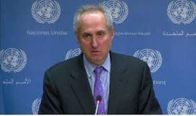 UN spokesman befitting reply to Indian Journalist over Pak role in terrorism question