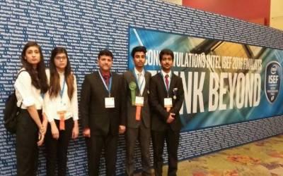 Intel ISEF 2016: Pakistani Student shine
