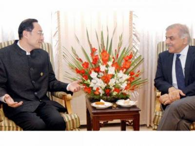 Shehbaz Sharif holds important meeting with Chinese Ambassador