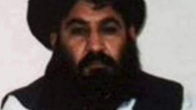 Why did the US drone strike hit Mullah Akhtar Mansoor in Pakistani territory