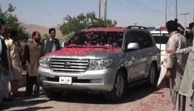 PSP office opened by Mustafa Kamal in Quetta