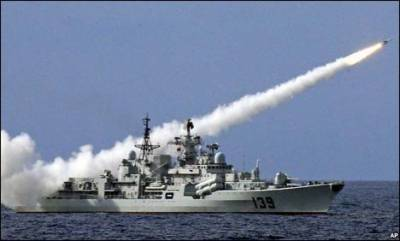 Indian Naval Warships scrambled after Pakistan and Indian Naval Vessels stand off in Indian Ocean