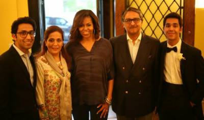 Michelle Obama: Why US First Lady visited Pakistan House in Washington