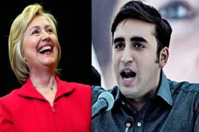 Hillary Clinton impressed by Bilawal speech, send him good wishes