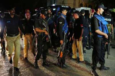 Five terrorist killed in Karachi by LEAs