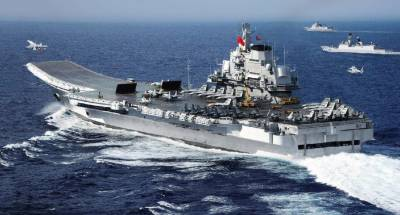 China - US naval joint drills in Pacific