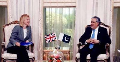 Pakistan-UK economic cooperation discussed with UK State Secretary