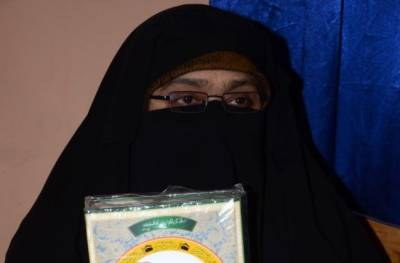 Aasiya Andrabi takes on extremist Hindus for their anti-Muslim remarks
