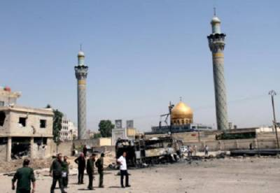Twin bombing at entrance of Syeda Zainab Shrine in Syria