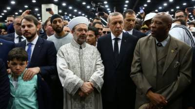 Why Erdogan left for Turkey without attending Mohammad Ali's Funeral