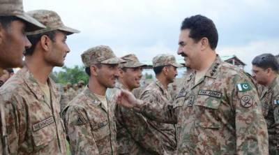 COAS visits North, South Waziristan: reviews progress on Zarb e Azb