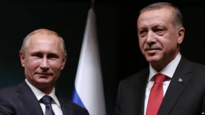Turkey's Erdogan sends letter to Putin in an effort to mend ties