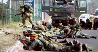 Indian troops violent military operation in Kupwara, Kashmir