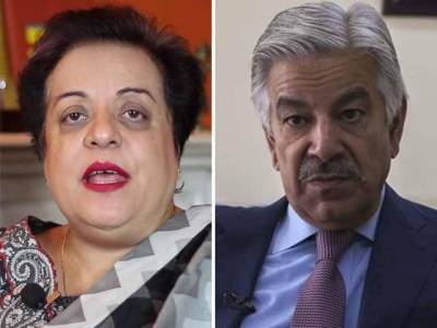 Shireen Mazari takes on to Khawaja Asif