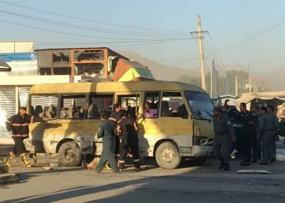 Kabul Suicide Attack: At least 14 foreigner security guards dead in suicide blast