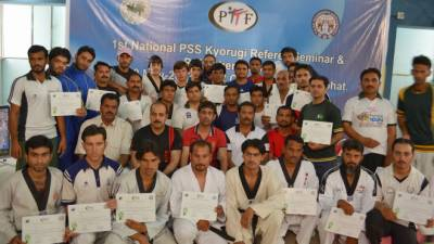Pak Taekwondo officials to attend courses seminar in China