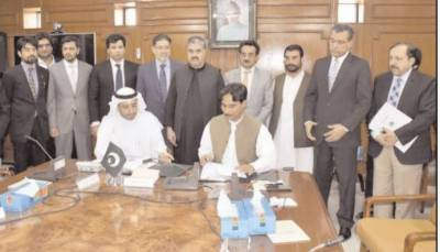 Balochistan govt-Kuwait firm inks MoU on Solar Energy Plant for Quetta