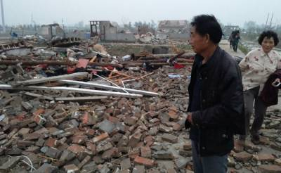 Extreme weather plays havoc in eastern China: Xinhua