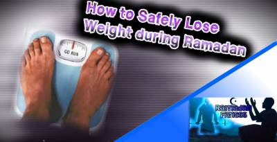 How to lose weight in Ramzan?