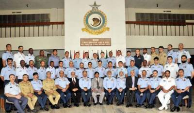 Air War College: Officers of 10 allied countries graduate