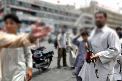 Ban on weapons display in Balochistan