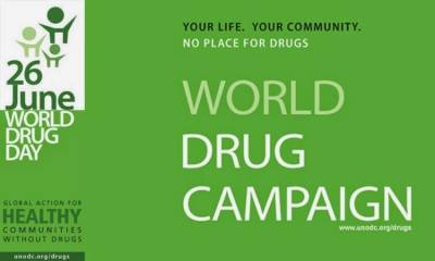 International Day against Drug Abuse: ANF Performance in year 2016