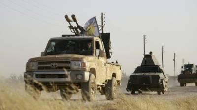US-backed Syrian rebels target ISIS
