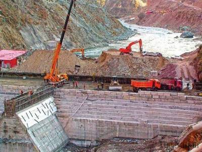 Hydropower projects under construction in Pakistan