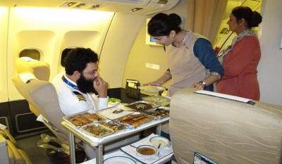 PIA introduces new menu on flights