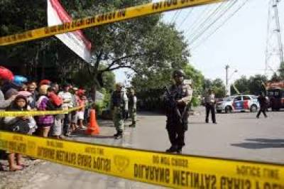 Suicide Blast on a police station in Indonesia