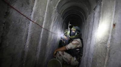 Gaza Tunnel collapse kill Palestinian Resistance Commander