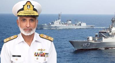 Naval Chief inspects forward posts at creeks-bordering India