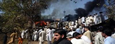 Improvised Electronic Device IED blast in Swat