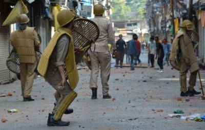 Indian Air Force base, police stations attacked by raged protestors in IOK