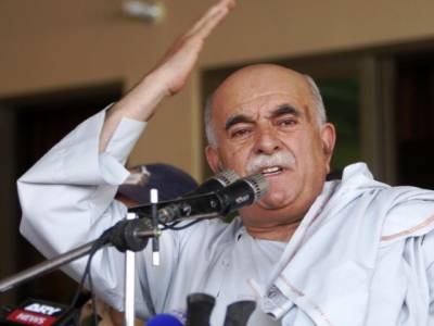 Mehmood Achakzai in trouble over Afghanistan remarks