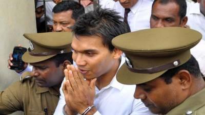 Sri Lanka arrests ex-President's son over money laundering