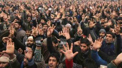 Pakistanis react to the brutal killings by Indian Army in IOK