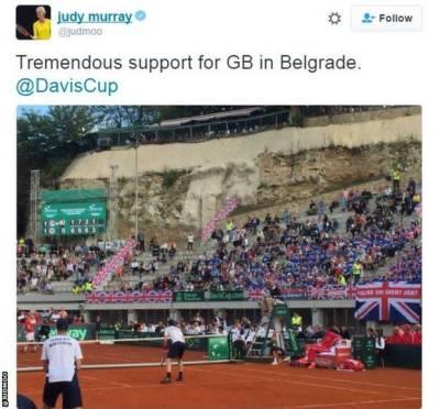 Tennis: Devis Cup Group Quarterfinals Results