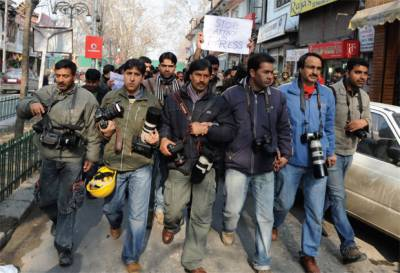IOK Journalists indebted for Pakistan's support to Kashmir cause