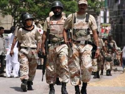 Pakistan Rangers Sindh Report on operations in Interior Sindh