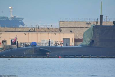 British nuclear submarine collides with Merchant Vessel
