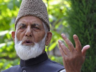 Indian rulers are most inhuman and brutal people: Ali Gilani