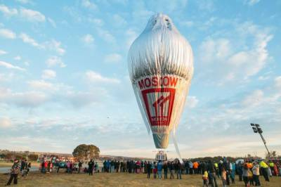 Russian Hot-air balloonist set to beat world record