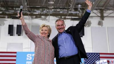 Hillary Clinton selects her Vice President running mate