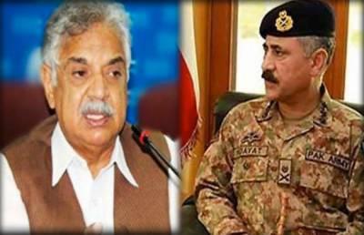 Corps Commanders Peshawar calls on KPK Governor