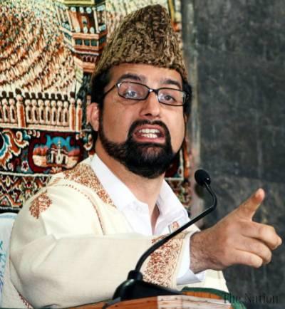 Don't blame Pakistan for Kashmir uprising, APHC Mirwaiz warns India