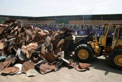 Iran destroys 100,000 satellite dishes and receivers