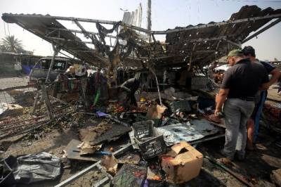 Suicide bombing in northern Baghdad
