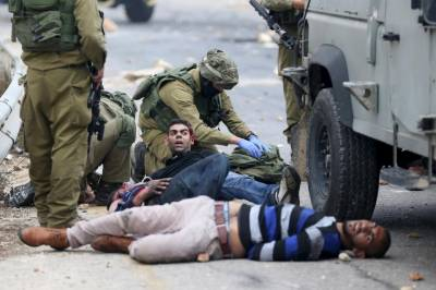 Israeli army kills Palestinian yet in another act of naked barbarism